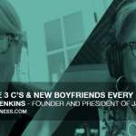 Featured image for episode 100 - The 3 C's and Everyday Boyfriends With Jennifer Jenkins