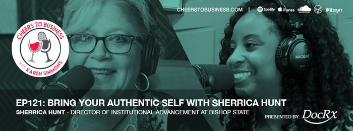 CFO CSI EP 121 Bring Your Authentic Self with Sherrica Hunt